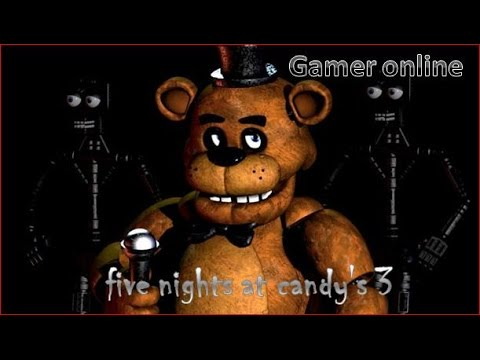 "OMG ..| five nights at freddy's 3 | ""GAMER ONLINE"" 