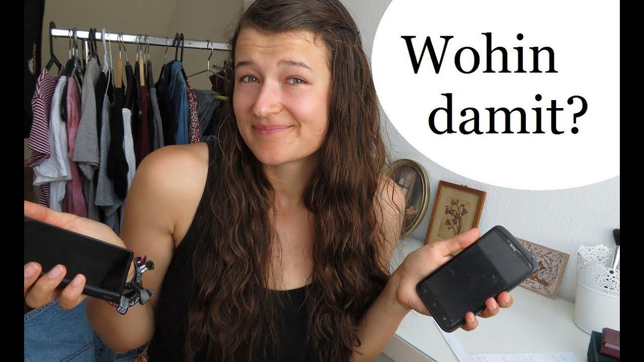 Wohin mit alten kaputten Handys? Verkaufen, Spenden, Entsorgen? Handy Recycling YouTube ~ 01054450_Kaputten Wäschekorb Entsorgen