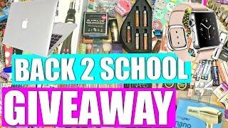 HUGE Back To School Giveaway 2016