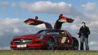 Mercedes-Benz SLS AMG Gullwing 2011 | Mercedes Spreads its Wings | Performance | Drive.com.au