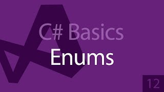 C# Programming Tutorials: Beginners 12 Enums, What are they?