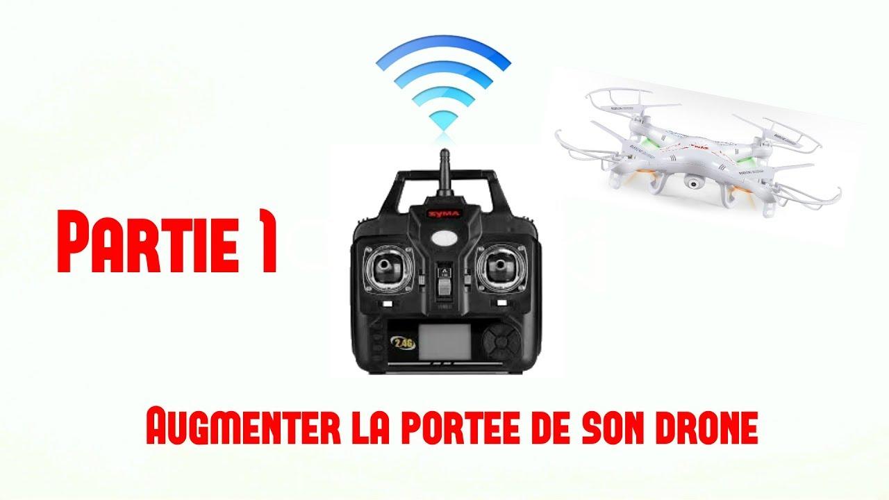 comment augmenter la port e de son drone syma x5c youtube. Black Bedroom Furniture Sets. Home Design Ideas