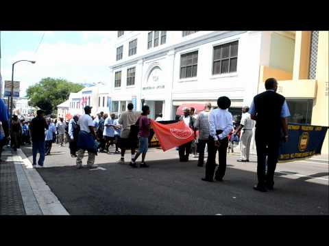 BIU Chants Eat Mr Chicken June 2012.