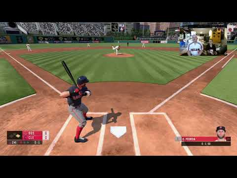 RBI Baseball 19 - Lets Play exhibition game between Red Sox vs Indians