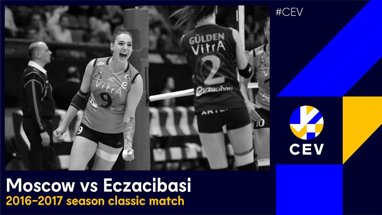 Dinamo MOSCOW vs Eczacibasi VitrA ISTANBUL FULL MATCH - 2017 #CLVolleyW Bronze Medal Match