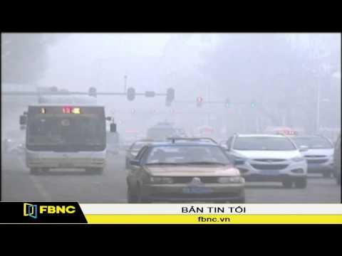 Ô nhiễm không khí gây tắc nghẽn giao thông tại Trung Quốc
