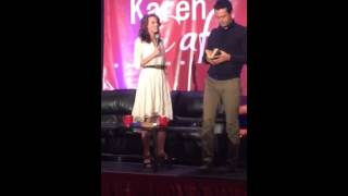 Hilarie Burton and Stephen Coletti Impersonations