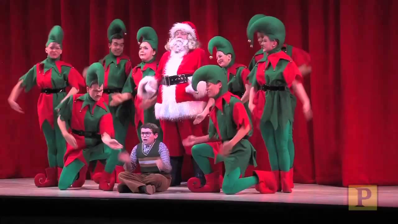 A Christmas Story Musical.Highlights From Pasek And Paul S A Christmas Story The Musical At Paper Mill Playhouse