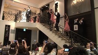 【オリジナルの結婚式】Wedding Entrance Dance!!~青山迎賓館(T&G)~