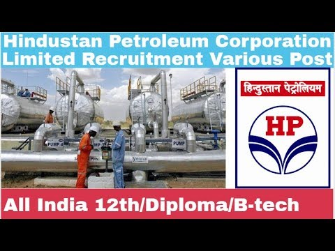Hindustan Petroleum Corporation Recruitment For Various Post