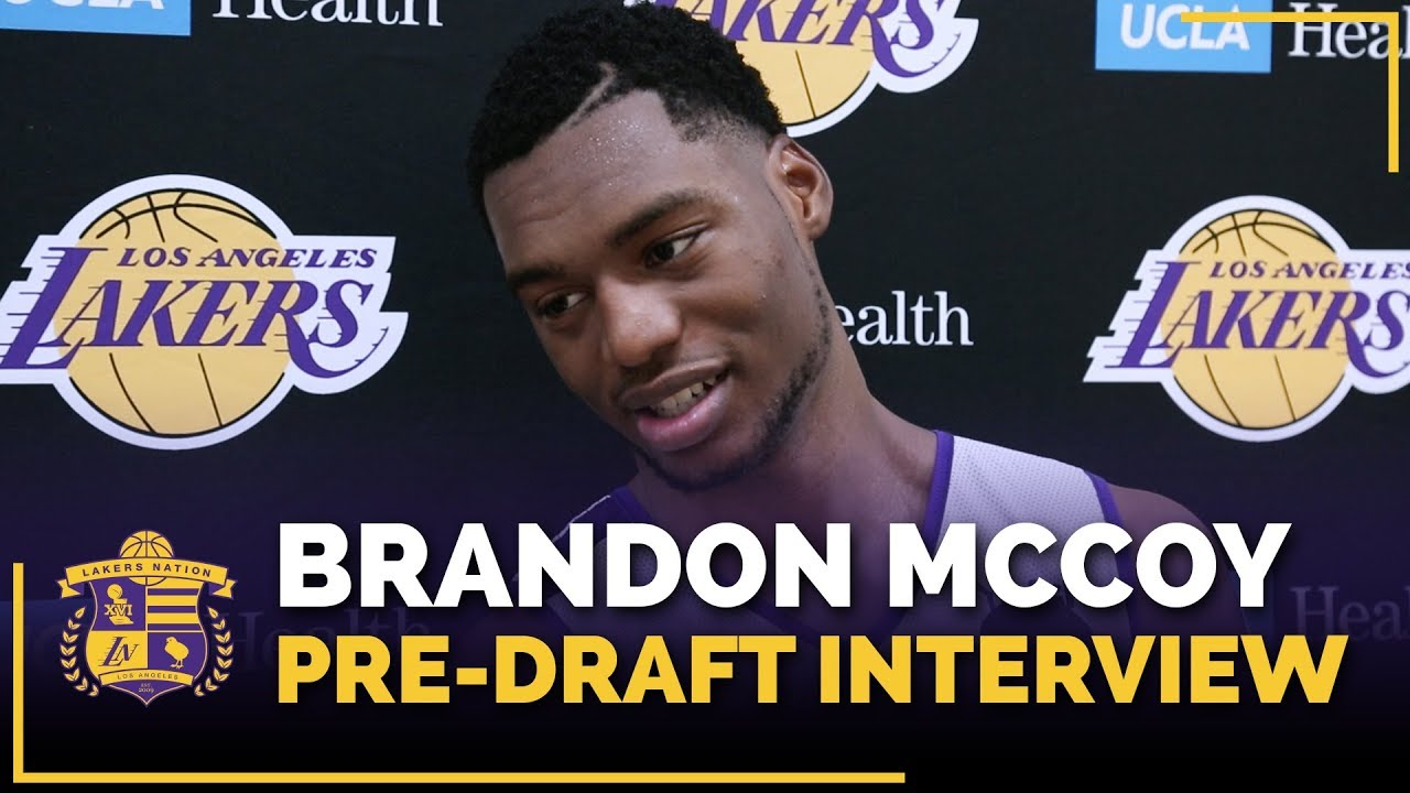 UNLV Center Brandon McCoy 2018 Lakers Pre-Draft Interview