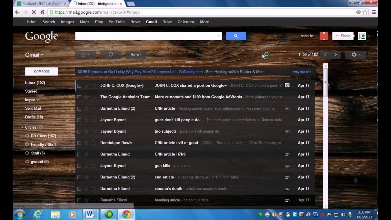 Use gmail to make phone free phone calls - YouTube