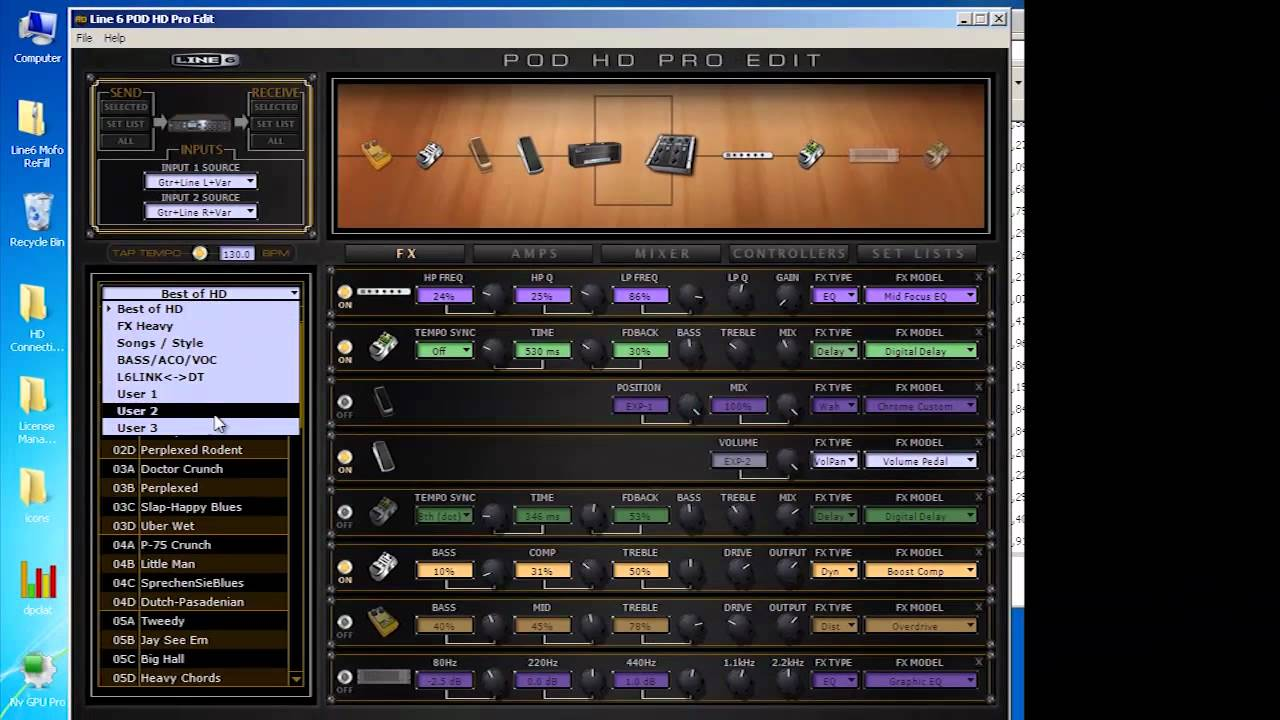 POD HD Edit Software and Customtone  YouTube
