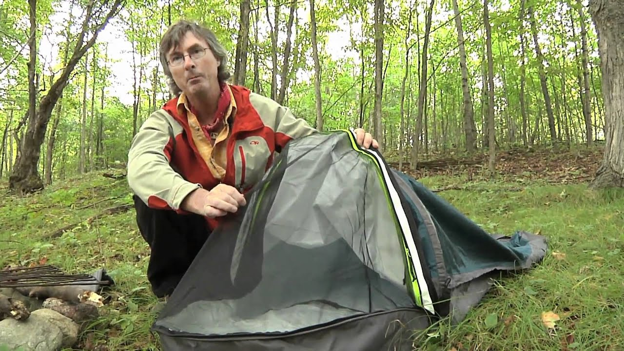 & Bivy Sack Set Up - Happy Camper Cool Gadgets - YouTube