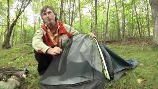 Bivy Sack Set Up - Happy Camper, Cool Gadgets