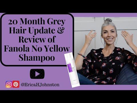 Review of Fanola No Yellow Shampoo