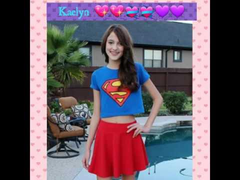 Seven super girls kaelyn