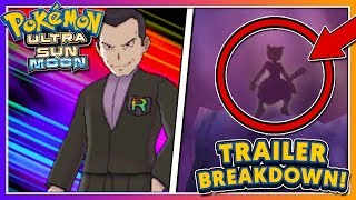 Pokémon Ultra Sun & Ultra Moon - TRAILER BREAKDOWN: TEAM RAINBOW ROCKET CONFIRMED!