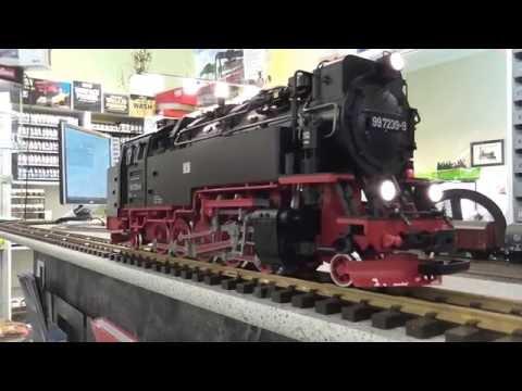 LGB 26814 Harzer Schmalspur Dampflok Digital,Sound + Synchron-Dampf