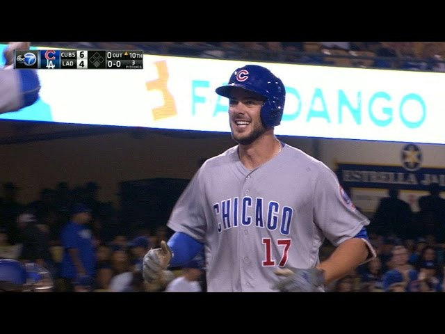 8/25/16: Bryant's 10th-inning homer lifts Cubs, 6-4