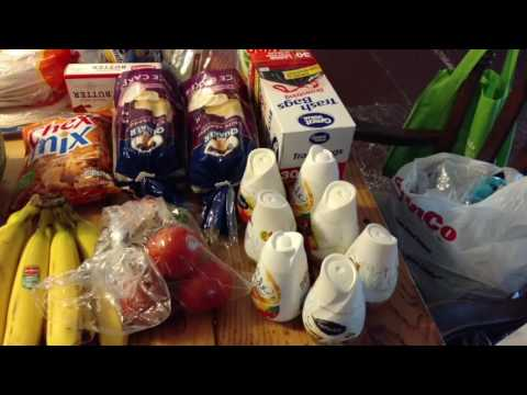 Long Holiday Weekend Grocery Haul -  Winco And Wal Mart