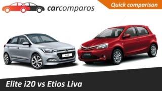 Liva vs Elite i20 Comparison Review