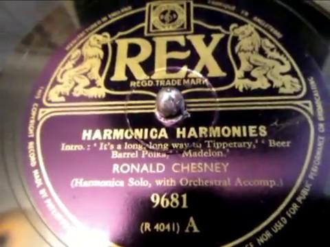 Ronald Chesney - Harmonica Harmonies - 1 of 2 - 78 rpm