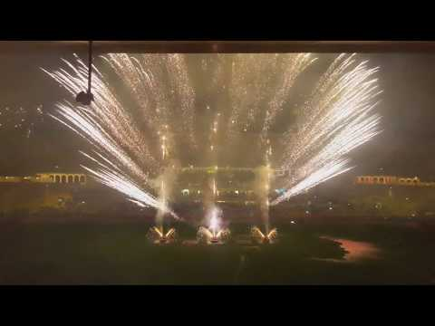 Feu d'artifice Monaco Champion Stade Louis 2 (17/05/17)