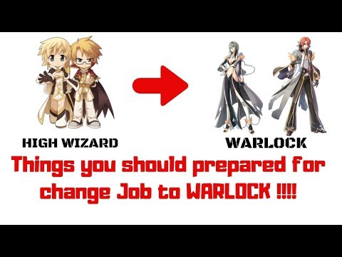 Things High Wizard Should Prepared For a WARLOCK 4rd | RAGNAROK MOBILE