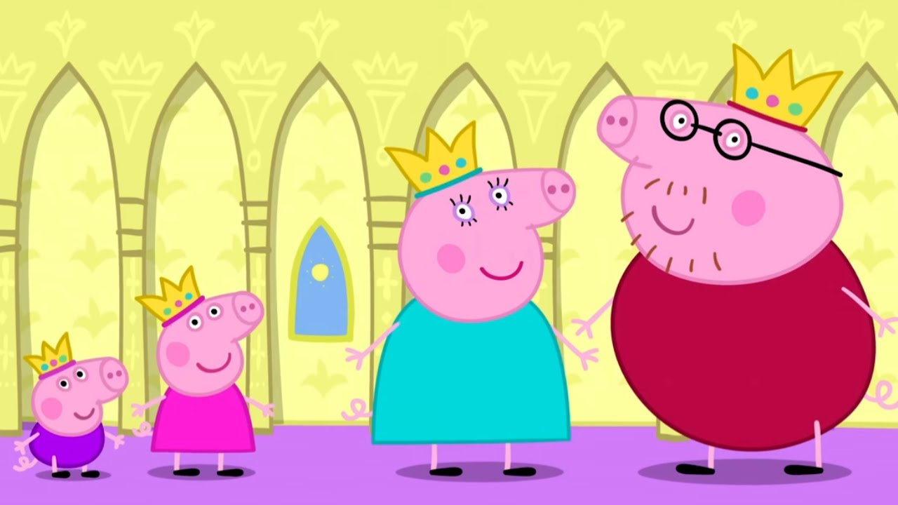 Peppa Pig Official Channel Princess Peppa Pig When I Grow Up