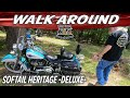 Harley Softail Heritage Walk-Around - Mods Review