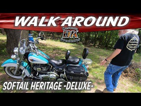 Harley Softail Heritage Walk-Around - Mods Review