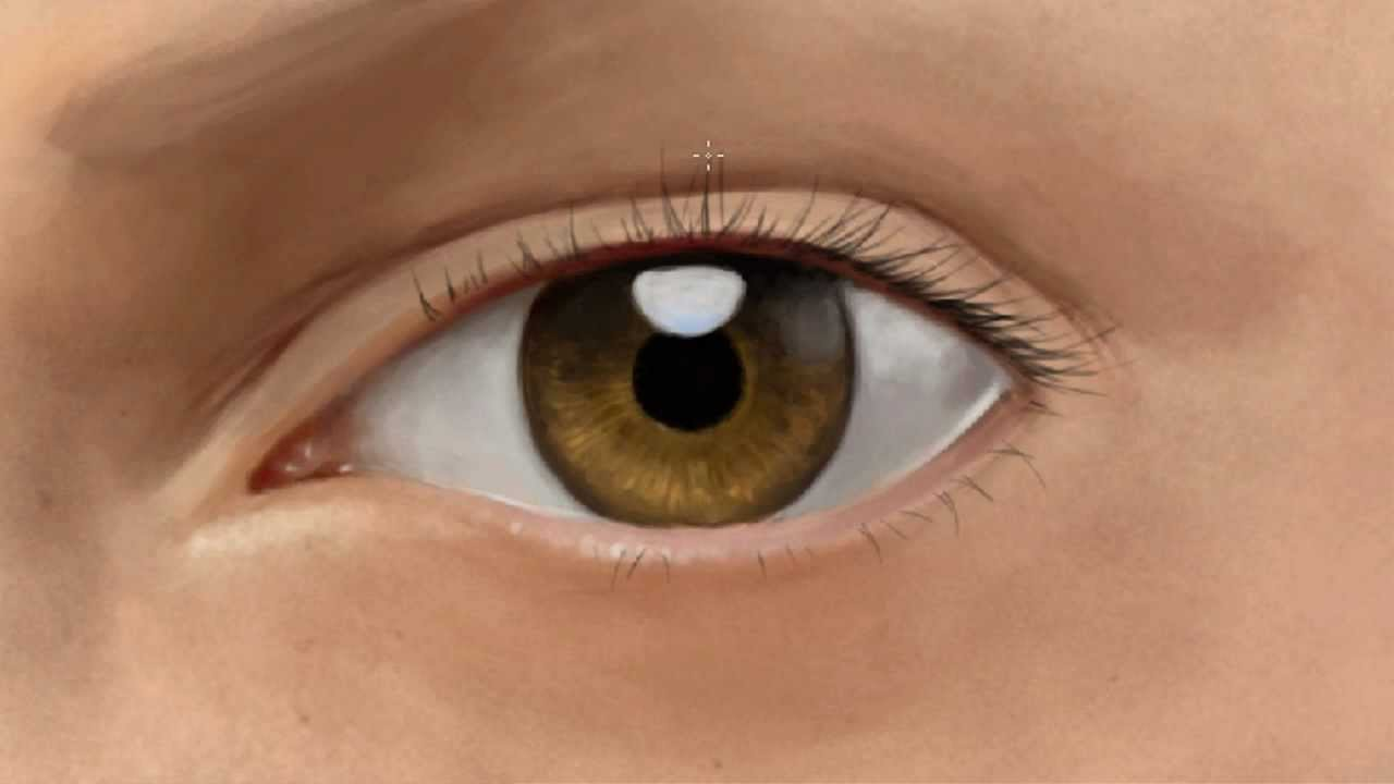 Painting Realistic Eyes In Oil