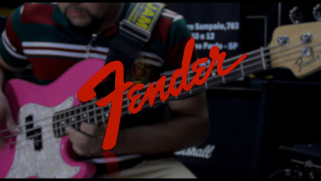 Fender Precision Bass Mark Hoppus Signature Demonstracao