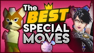 The Best Special Moves in Smash Bros. History