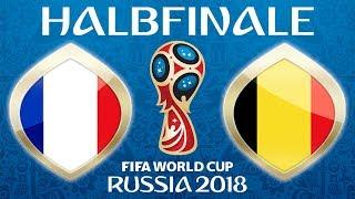 Fussball WM 2018 · HALBFINALE · Frankreich - Belgien · 10.07.2018 · Lets Play Fifa 18 WM PS4 #61