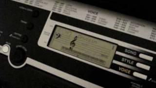 vuclip Yamaha YPT-210 Keyboard