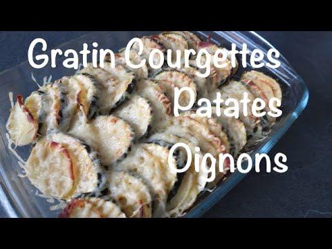 gratin-de-courgettes-/-pommes-de-terre---recette-économique-et-facile