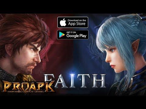 FAITH Gameplay Android / IOS (Open World MMORPG) (by NEXON) (JP)