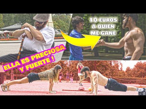 FORTACHON CAMUFLADO de ANCIANO da 10 EUROS a quien GANE *RETO FITNESS* thumbnail
