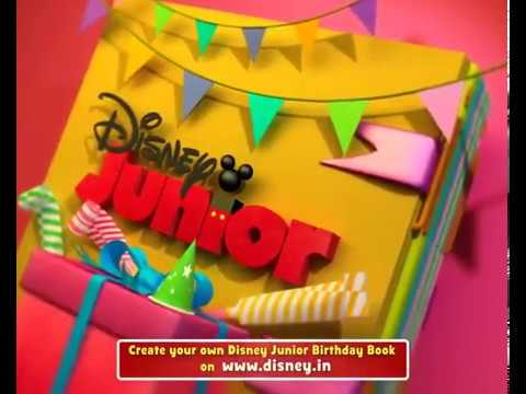 Permalink to Disney Junior Birthday Book India November 2018