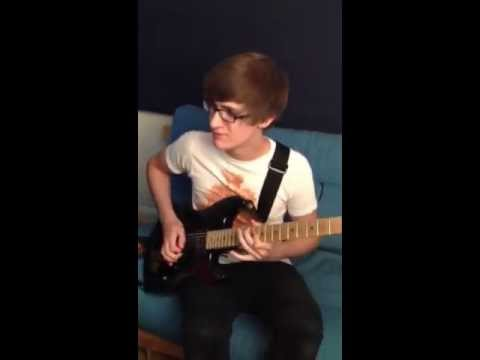 Elliot's Guitar Solo - 'Crocodile Tears' (In The Studio: August 2012)
