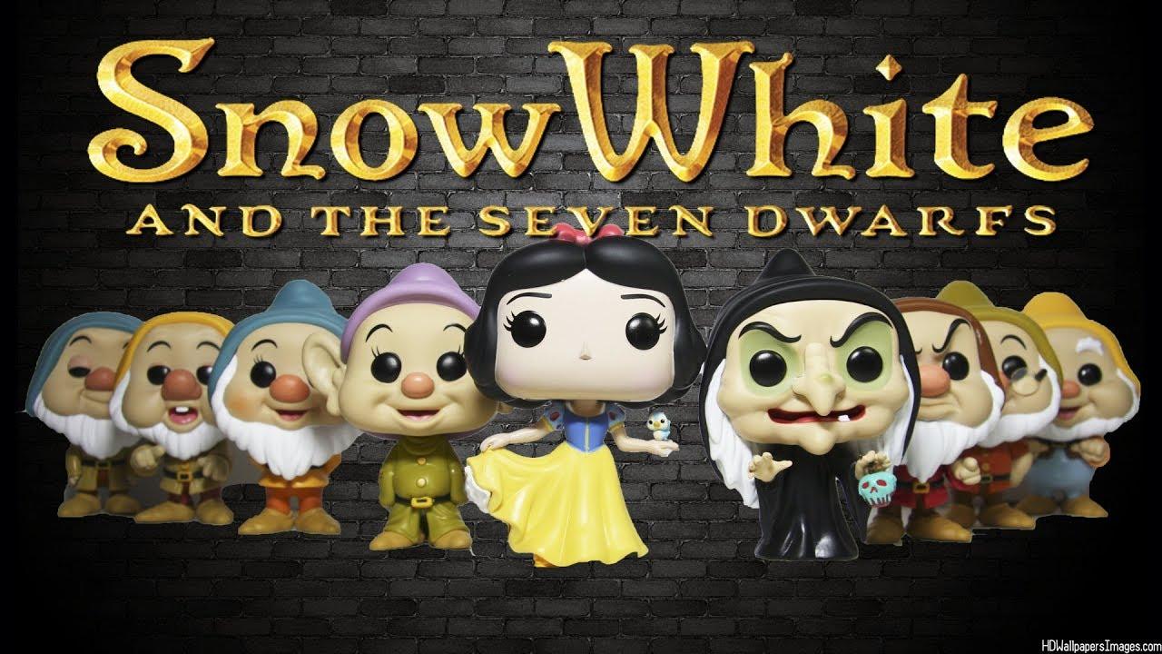 Vinyl Figure NEW Funko Snow White Pop Snow White and the Seven Dwarfs