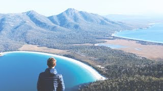 Weltreise Tag 643 • Wineglass Bay im Freycinet Nationalpark • Tasmanien • Vlog #100