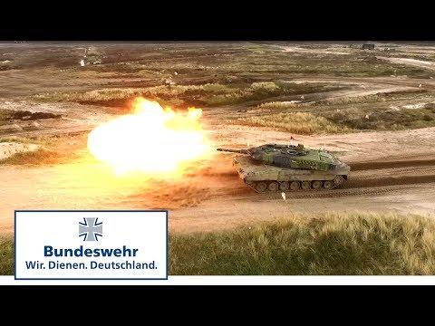 """""""Boom!""""  Bundeswehr-Panzer bei der Nordic Tank Challenge 2017"""