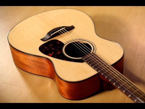Yamaha FS800 Acoustic Guitar Demo