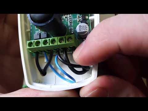Подключаем датчик движения  Астра 621 к модулю Овен МК110-220.4ДН.4Р