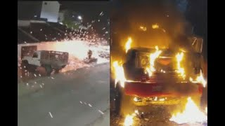 Ataques en Norte de Santander: lanzan granada contra casa en Ocaña e incendian camión en vía Tibú
