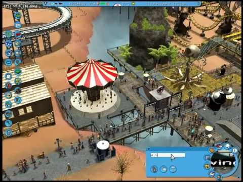 Rollercoaster Tycoon 3 Platinum Episode 14: Playing with Cheat Codes.