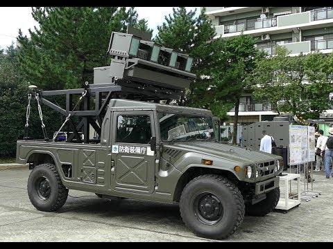 最新の研究車輛群! 防衛装備庁 陸上装備研究所一般公開2018
